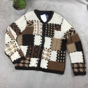 Crazy Horse Liz Claiborne Cable Knit Sweater